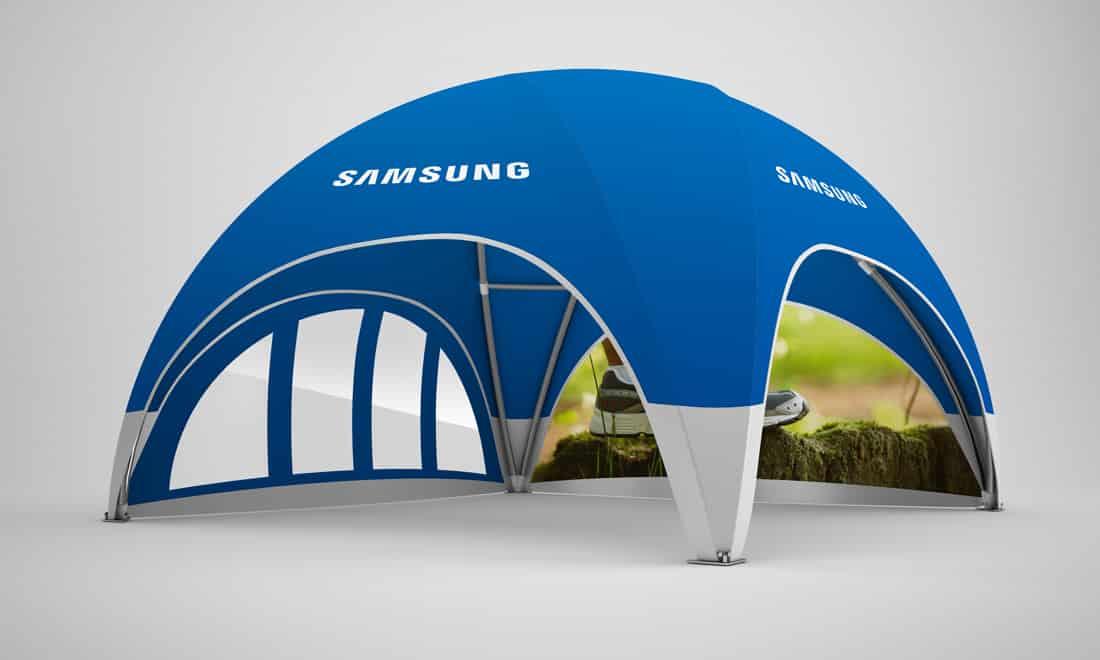 dome-pavillon 8x8 samsung