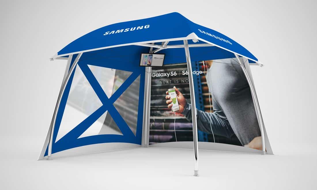 pavillons-5x5: Modell Lounger Pavillon-5x5