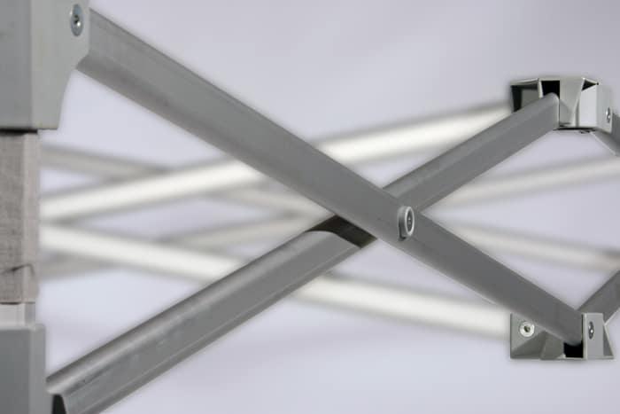 faltpavillon-5x5 mit präziser Verarbeitung