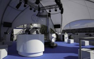 profi dome-pavillon 8x8