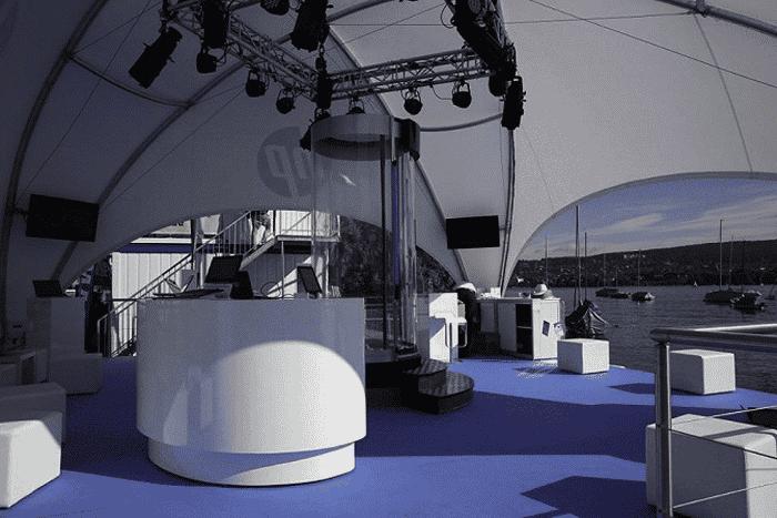 vip-pavillon Beleuchtung und Zeltheizung