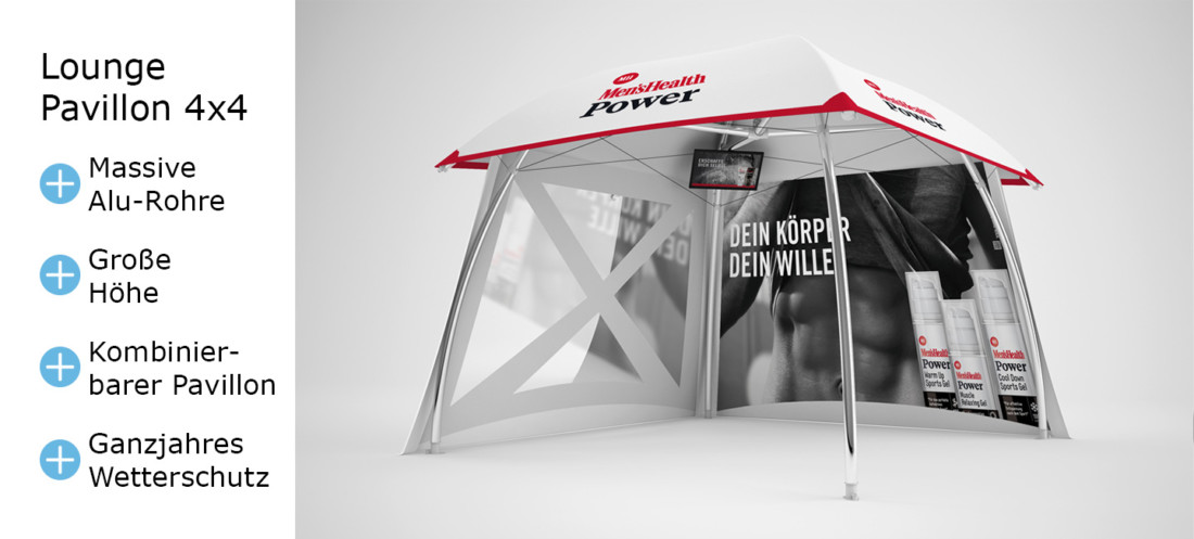 Pavillons 4x4: Modell Lounger-pavillon-4x4