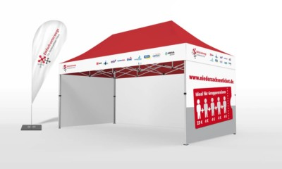 2x4 stadtfest-pavillon messezelt