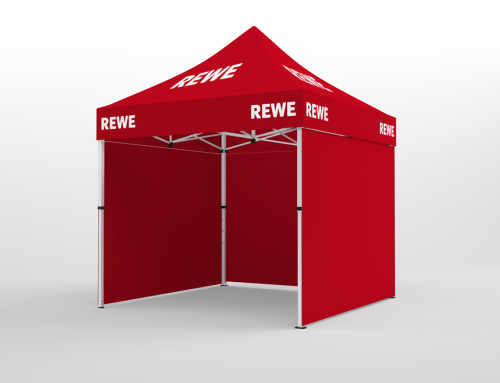 REWE Aktions-Pavillon 3×3