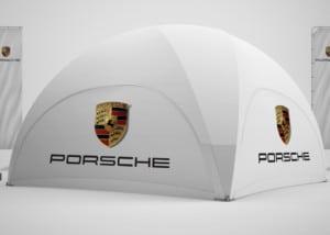 Porsche Dome-Pavillon 6x6