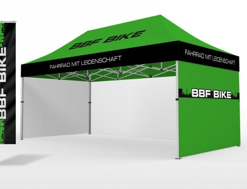 BBF Bike Fahrrad-Pavillon