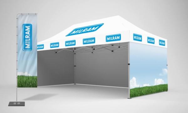 Milram Messe-Pavillon 4x6