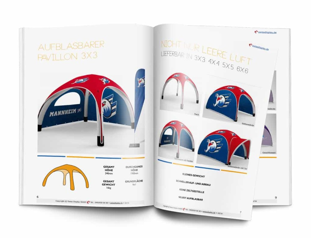 Pavillon Katalog 2017 nur Promotion-Pavillons