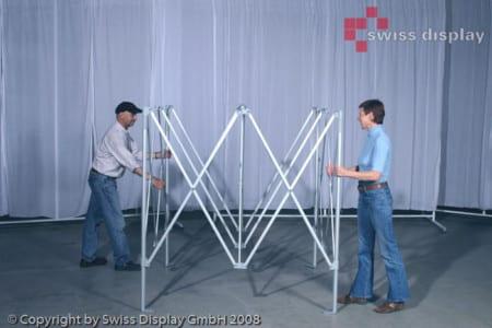 Faltpavillon 4x4 montieren ist ganz leicht