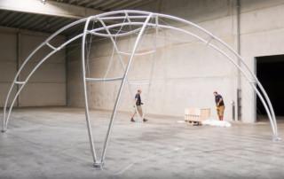 montage-dome-pavillon-8x8