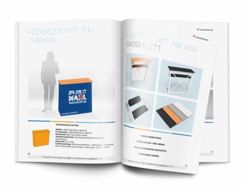 Messe-Counter / Messe-Theken Katalog erschienen
