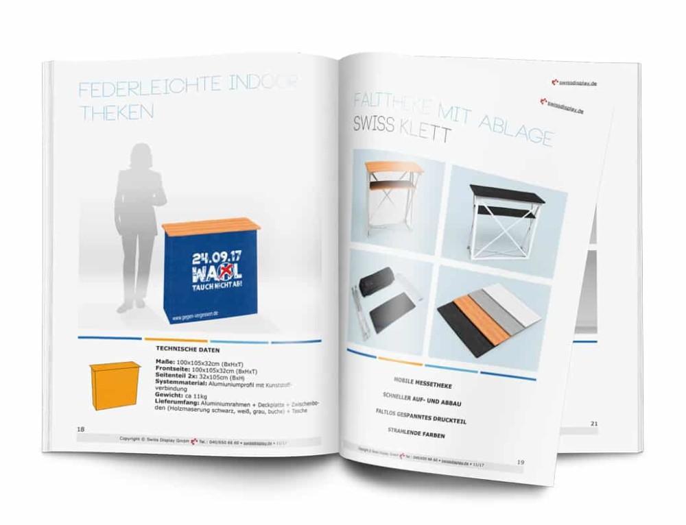 Messe-Counter / Messe-Theken Katalog erschienen