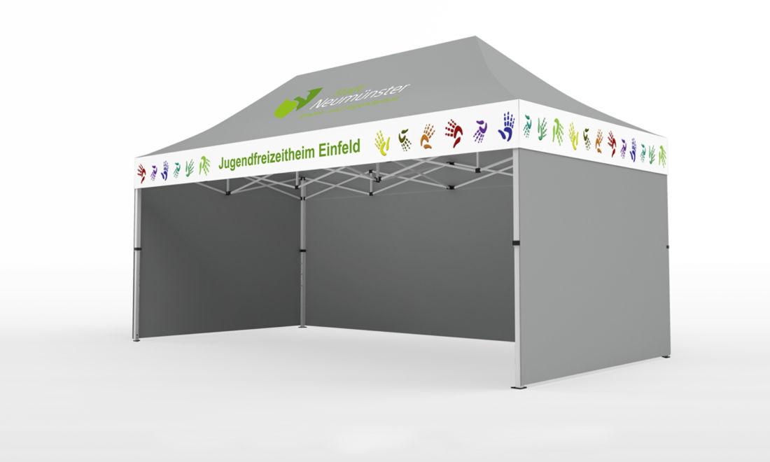 3x4.5m stadtfest-pavillon