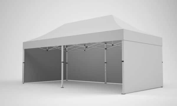 Faltpavillon 4x8 ohne Werbung