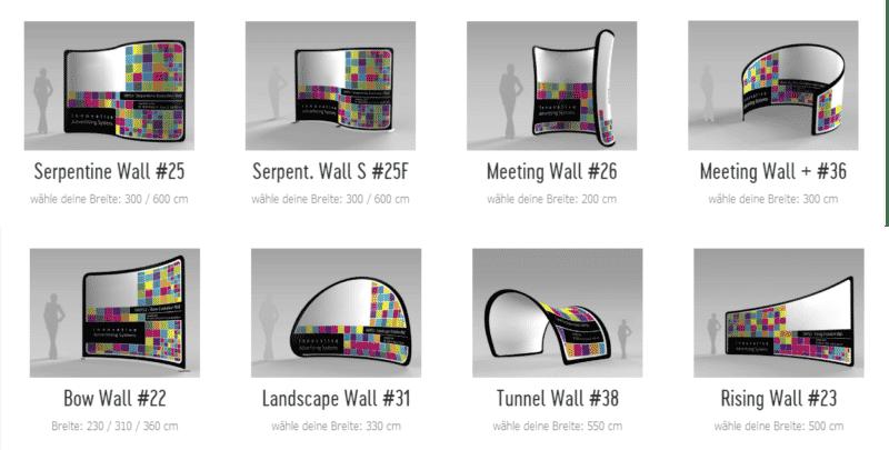 backdrop-displays bis 600cm breite