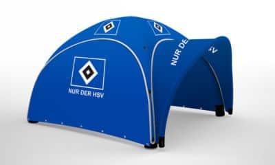 4x4m aufblasbarer Pavillon HSV