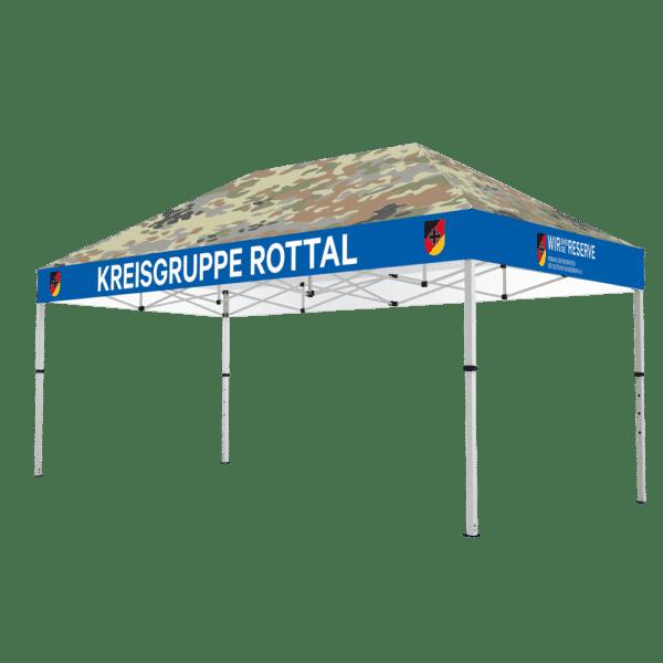 Faltpavillon für die Bundeswehr-Reservisten