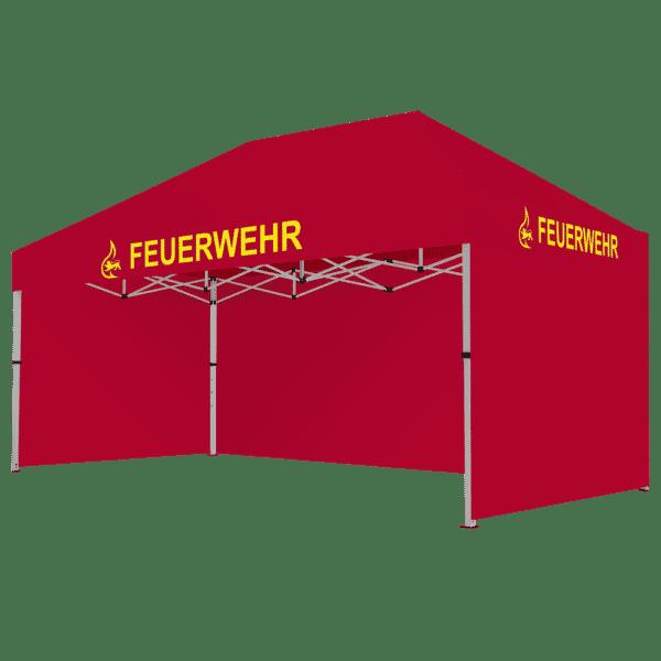 Feuerwehr Faltpavillon 3x4.5