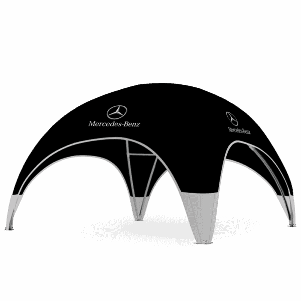 Profi Dome-Pavillon 6x6 Mercedes Benz