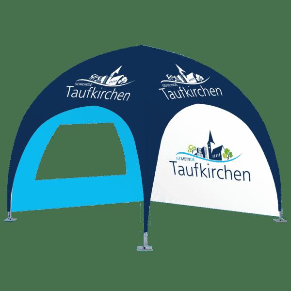 dome pavillon 3x3 stadt taufkirchen