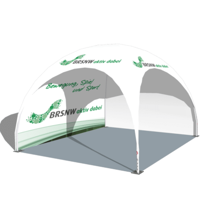 Dome-Pavillonsin 3x3 Meter und in 4x4 Meter Penta lieferbar