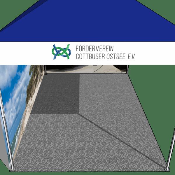 zeltboden für faltpavillon 3x4.5