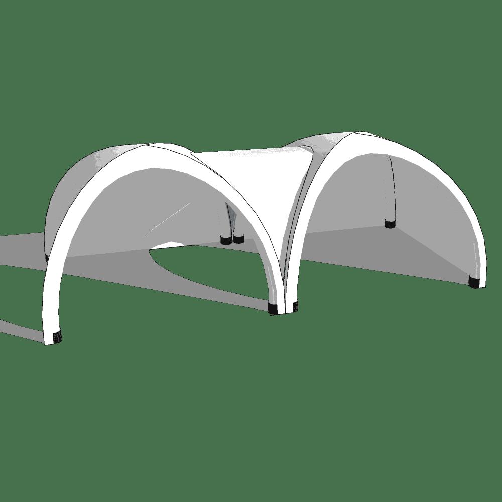 Übergang 2 aufblasbare Pavillons