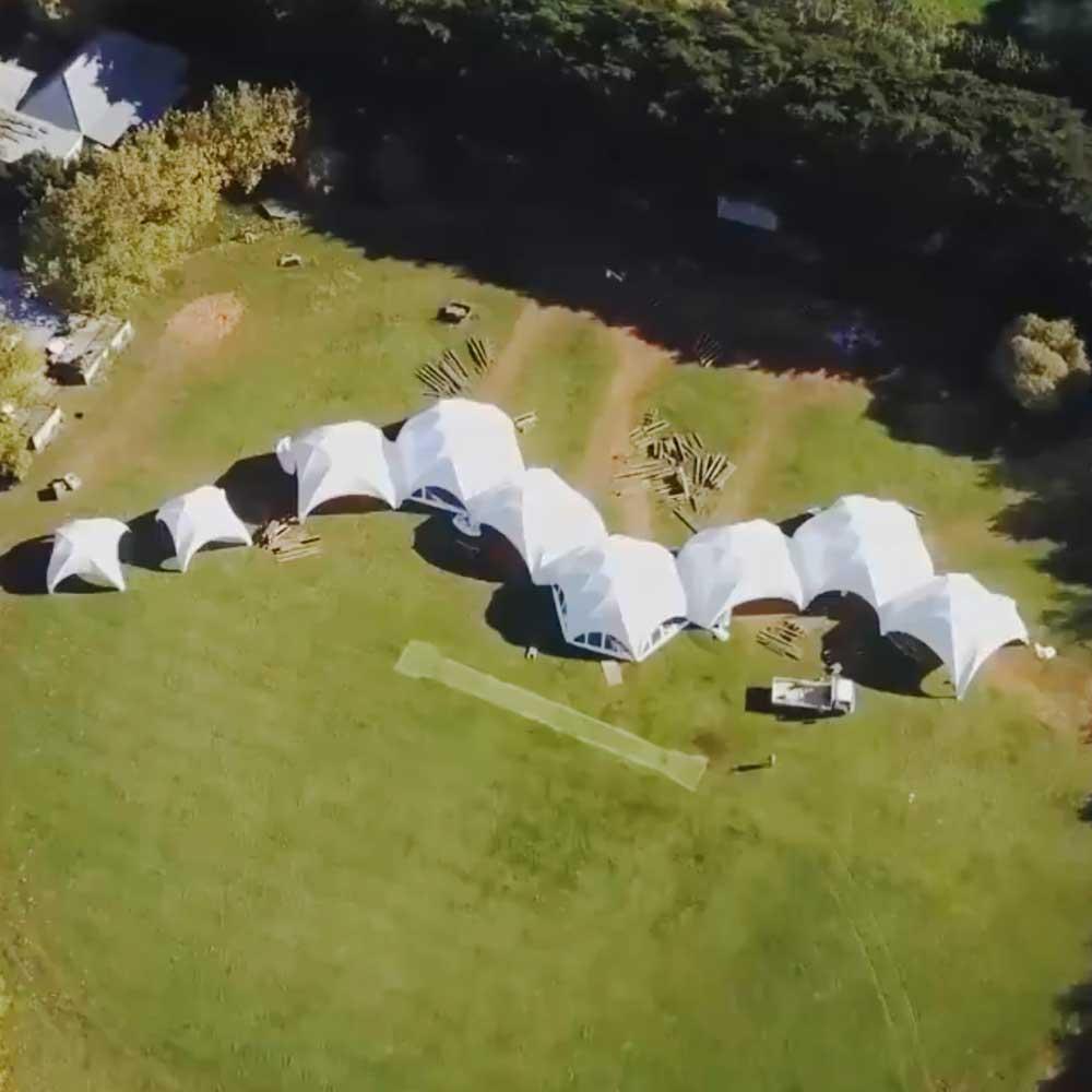 Profi Dome Pavillon 6x6 Continental