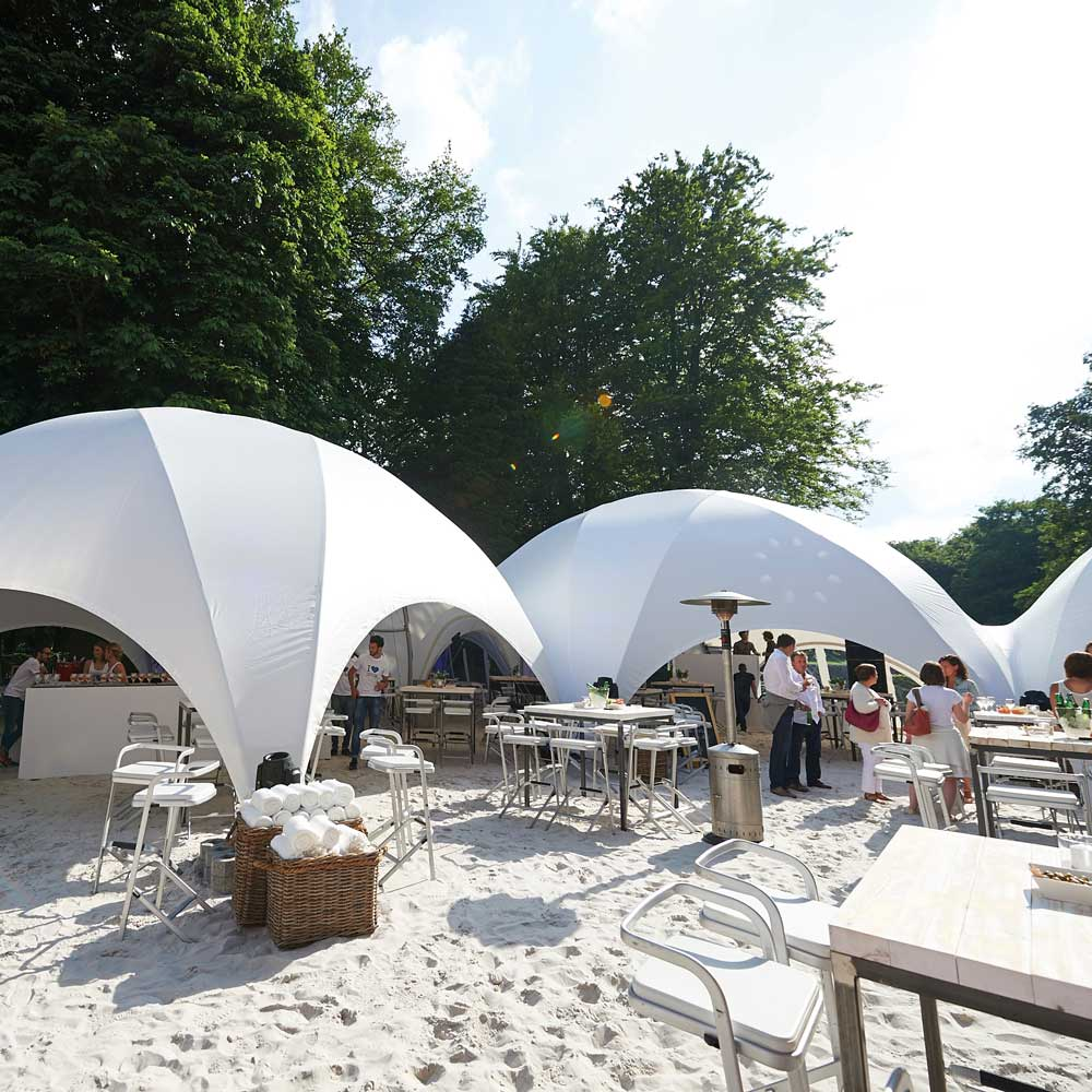 Profi Dome-Pavillon 175m² Überdachung