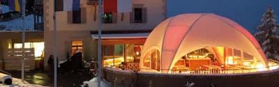 Terrasse überdachen mit fliegendem Bau 2