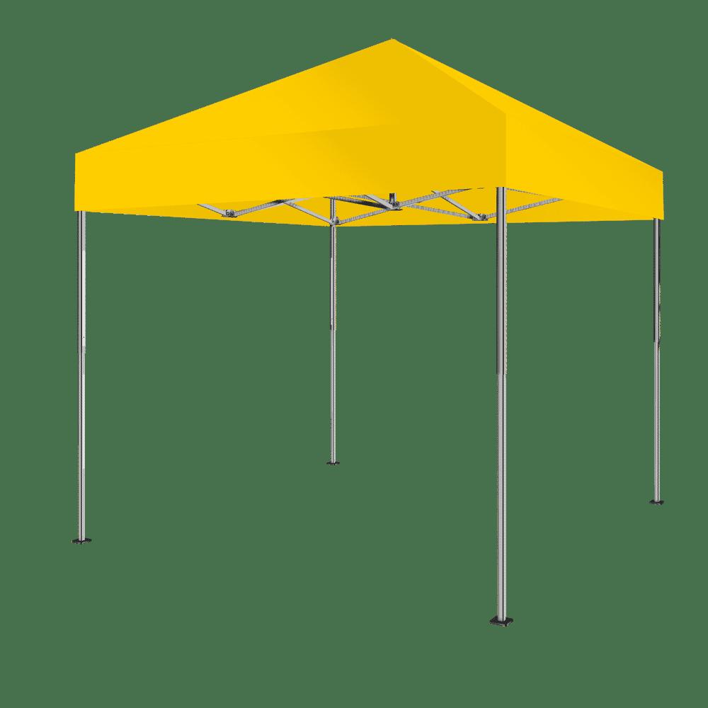 top faltzelt 3x3 farbe gelb