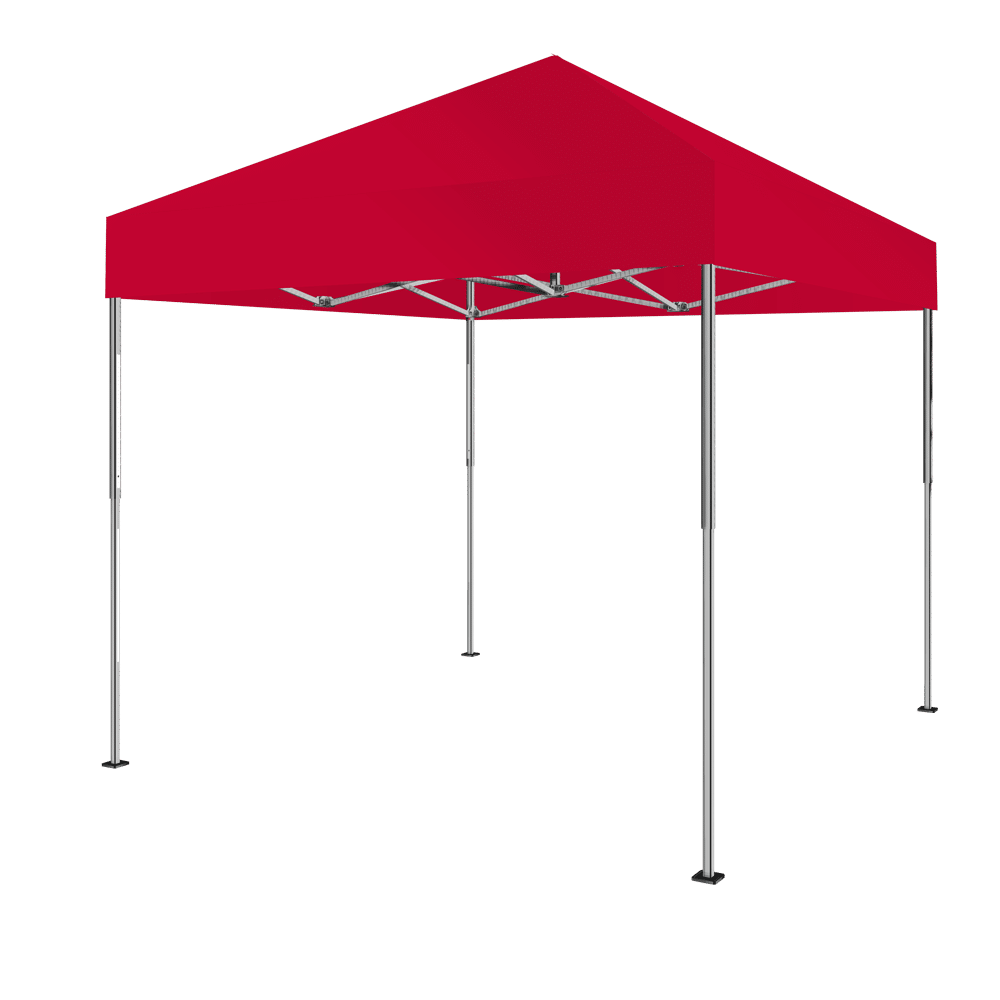 top zelt 3x3 farbe rot