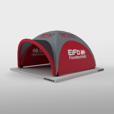Aufblasbarer Pavillon 5x5m Eifo Forsttechnik Bild 4