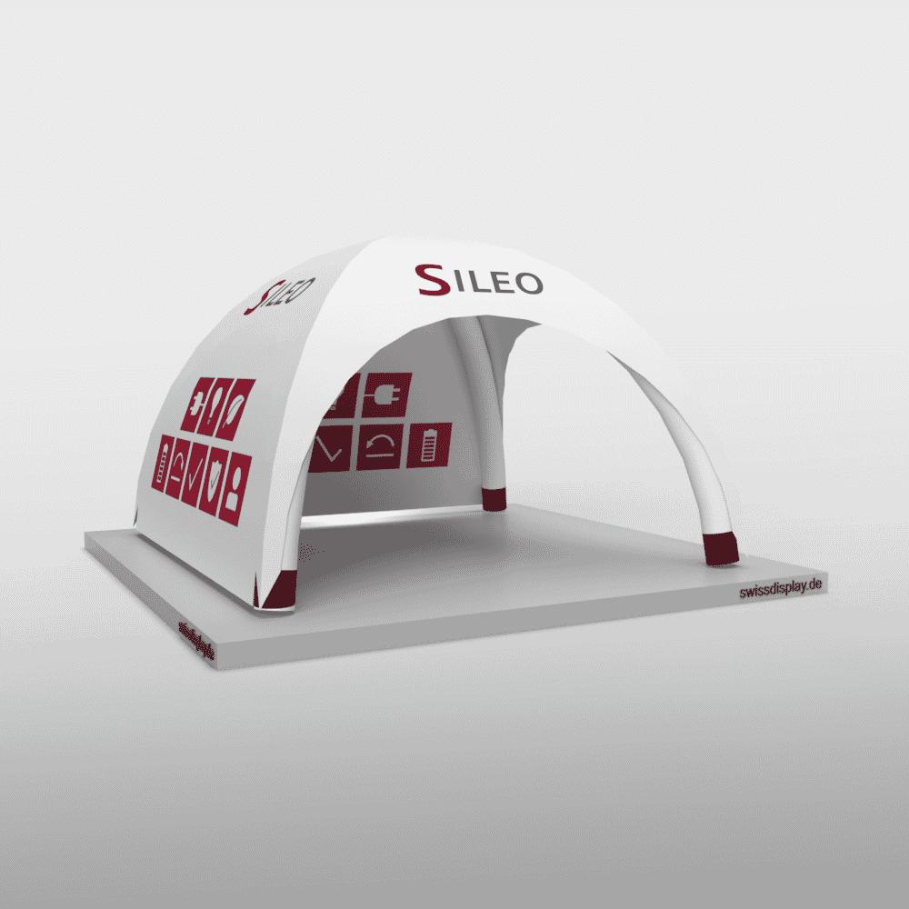 Aufblasbarer Pavillon 4x4 Sileo