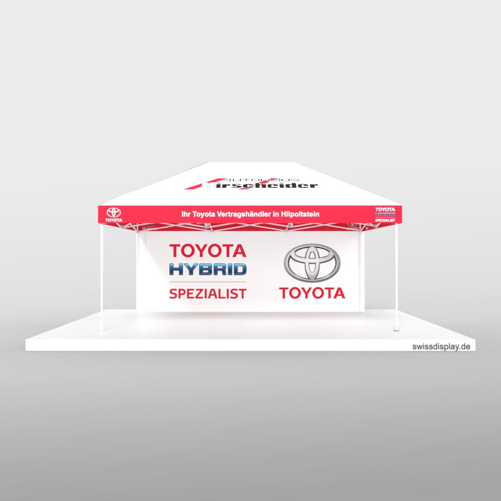 Faltpavillon 4x6 Toyota