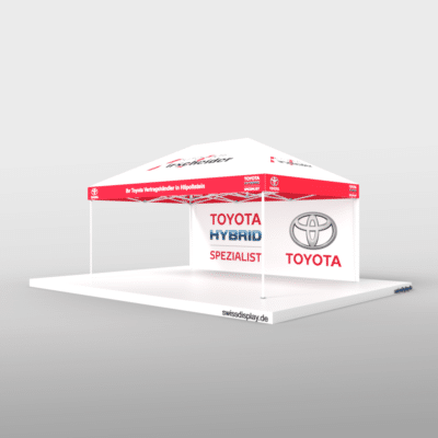 Faltpavillon 4x6 Toyota Bild 3