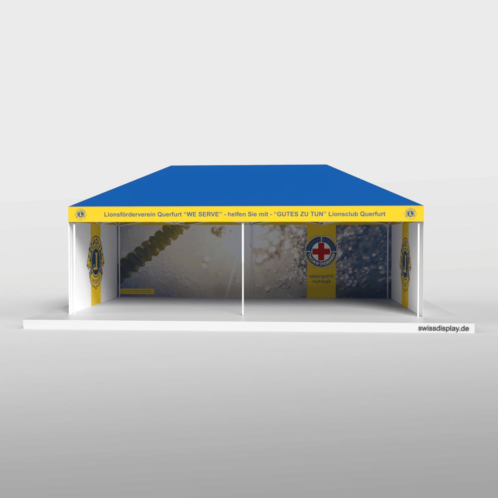 Faltpavillon 4x8 Lionsclub Bild 2