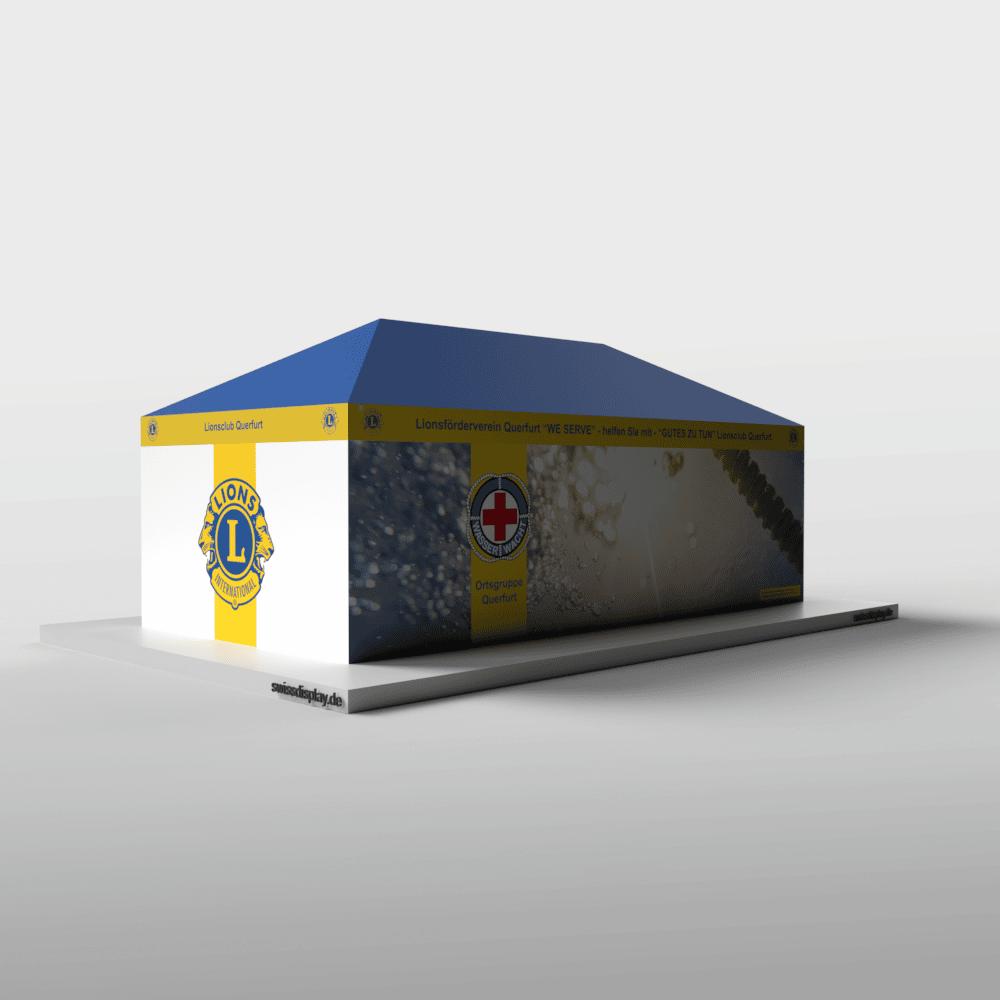 Faltpavillon 4x8 Lionsclub Bild 4