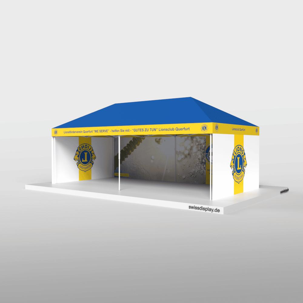 Faltpavillon 4x8 Lionsclub Bild 3