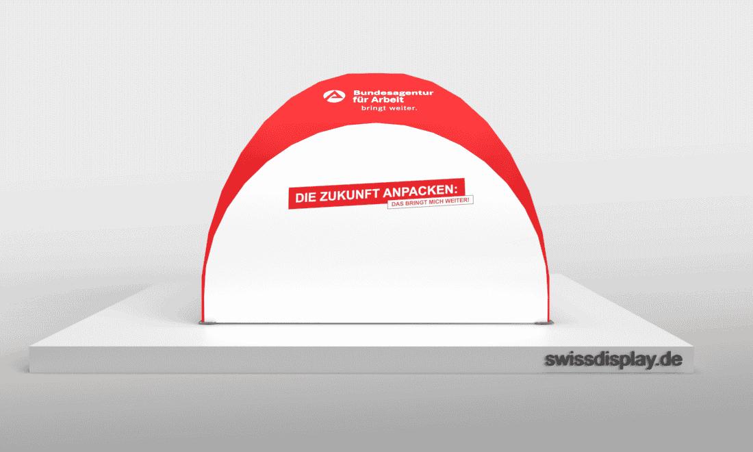 dome pavillon zelt 3x3 Agentur für Arbeit Bild 5