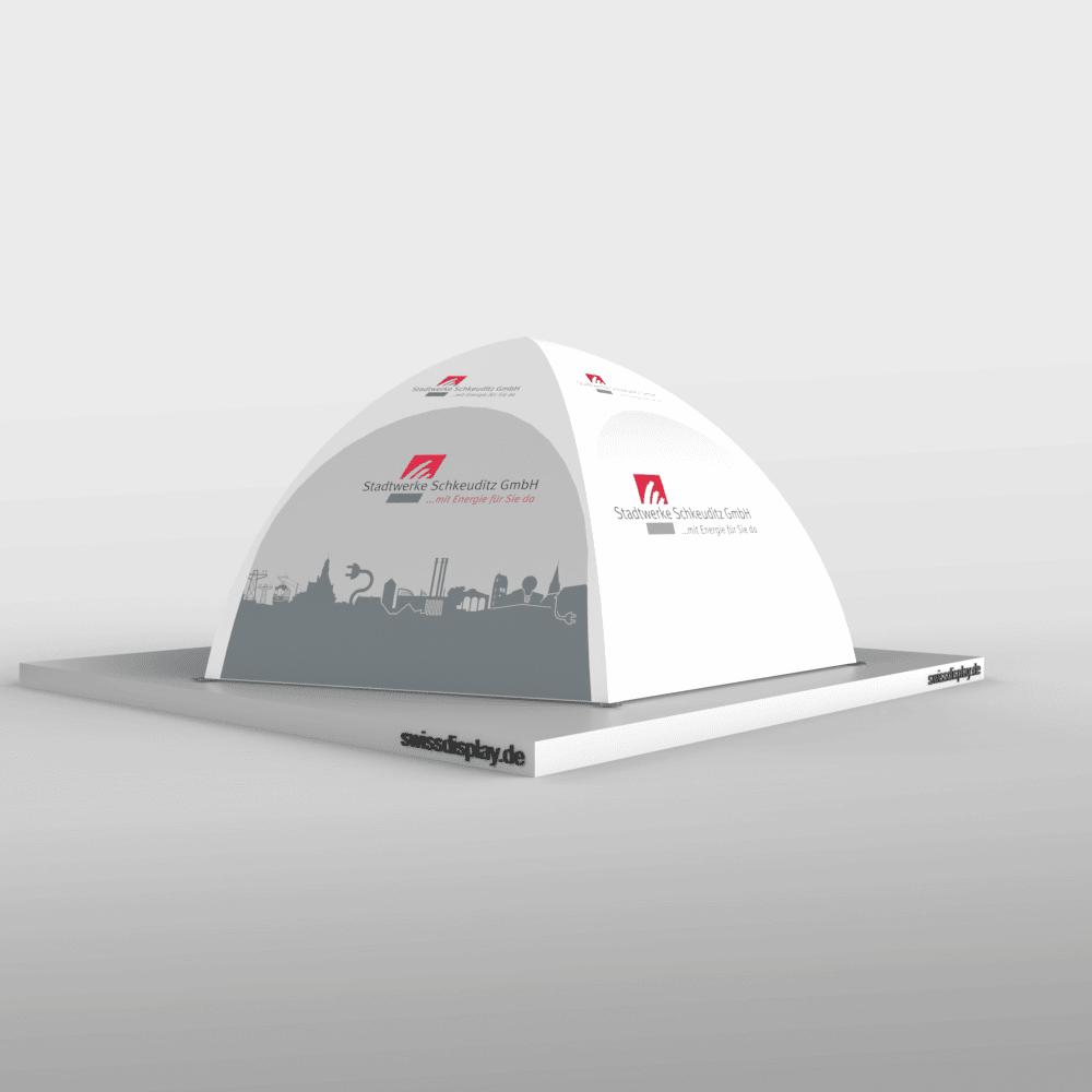 Dome Pavillon Zelt 4x4 Penta Stadt Schkeuditz Bild 5