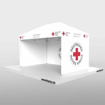 Leads generieren Faltpavillon 3x4.5m DRK Bild 4