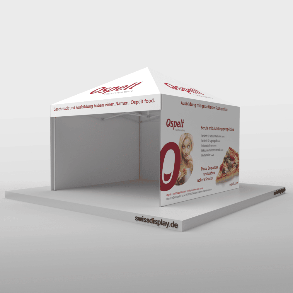 Faltpavillon-4x4-Ospelt-recruiting Bild 1