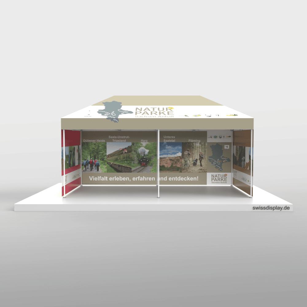 Faltpavillon 3x6 Landesverwaltung Halle Bild 2