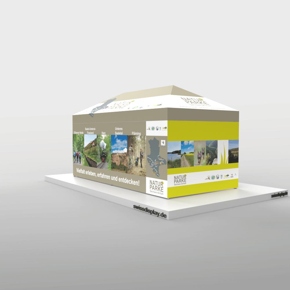 Faltpavillon 3x6 Landesverwaltung Halle Bild 4