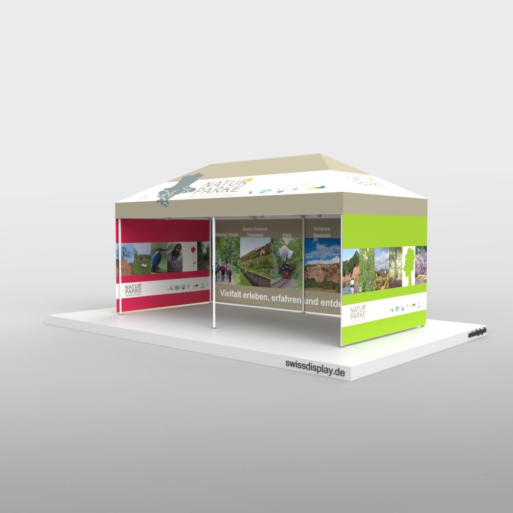 Faltpavillon 3x6 Landesverwaltung Halle Bild 1
