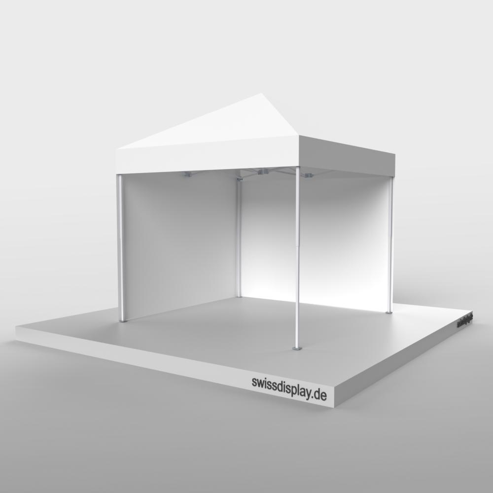 Faltzelt 3x3 ohne Werbedruck